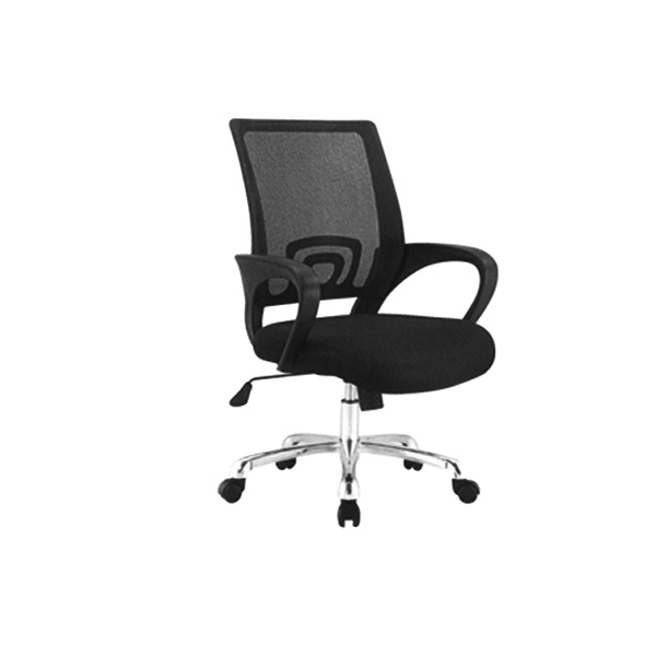 DUO-MESH-BACK-BLACK-CHAIR-WITH-WHEELS