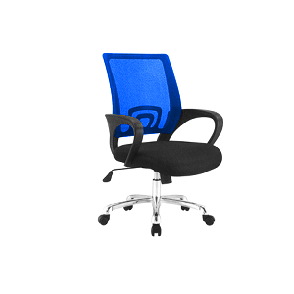 DUO-MESH-BACK-BLUE-CHAIR-WITH-WHEELS